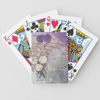 Jeu De Cartes Pétales violets - collection