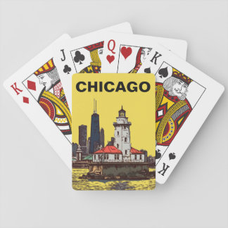 JEU DE CARTES PHARE DE CHICAGO
