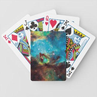 Jeu De Cartes Photo 2074 de l'espace de nébuleuse de tarentule