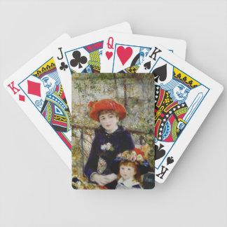 Jeu De Cartes Pierre un Renoir | deux soeurs, ou sur la terrasse