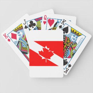 Jeu De Cartes Piqué blanc rempli Canada
