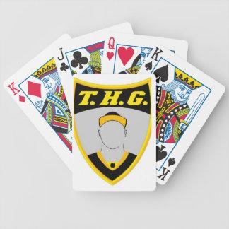 Jeu De Cartes Plate-forme de THG des cartes