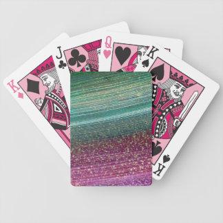 Jeu De Cartes Plate-forme de tisonnier d'arc-en-ciel des cartes