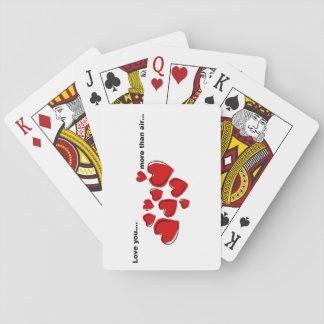 """Jeu De Cartes """"Plus cartes de jeu qu'air"""""""