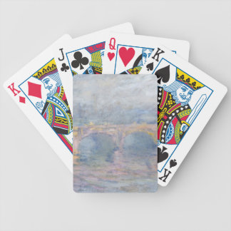 Jeu De Cartes Pont de Claude Monet | Waterloo, Londres, au