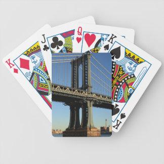 Jeu De Cartes Pont New York Manhattan Brooklyn