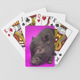 Jeu De Cartes Porc noir de bébé