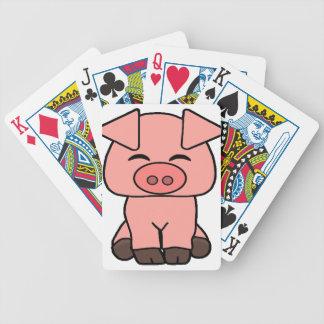 Jeu De Cartes Porc rose mignon
