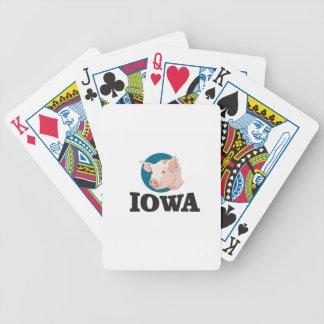 Jeu De Cartes porcs de l'Iowa