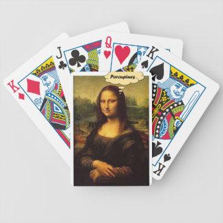 Jeu De Cartes Porcs-épics de Mona Lisa
