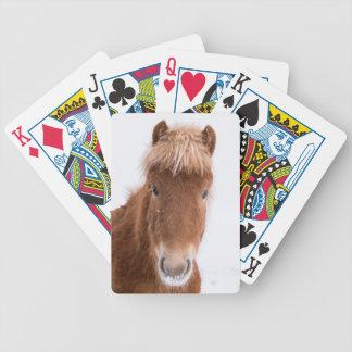 Jeu De Cartes Portrait de cheval islandais