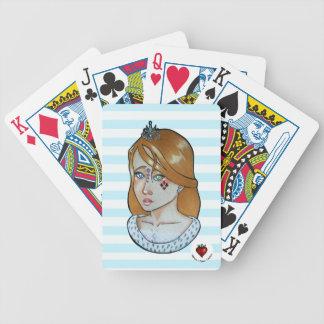 Jeu De Cartes Princesse des as - cartes de jeu de bicyclette