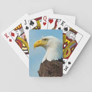 Jeu De Cartes Profil d'Eagle chauve