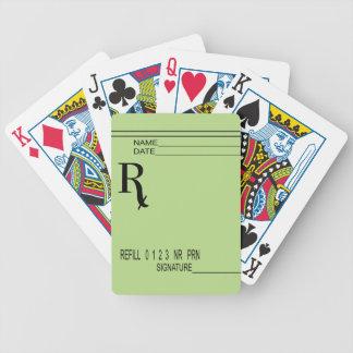 Jeu De Cartes Protection de prescription de Rx - écrivez votre