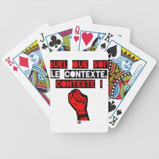 Jeu De Cartes Quelque soit le CONTEXTE CONTESTE ! - Jeux de Mots