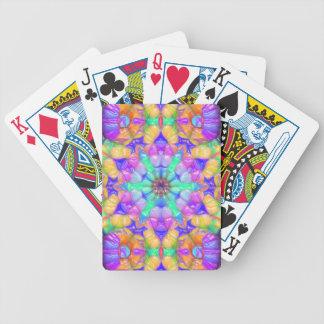 Jeu De Cartes Réflexions concentriques colorées
