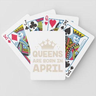 Jeu De Cartes Reine d'avril