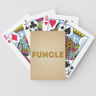 Jeu De Cartes Rétro typographie inspirée de Funcle