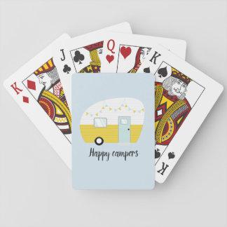 Jeu De Cartes Rétros cartes de jeu vintages de campeur de
