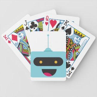 Jeu De Cartes Robot heureux