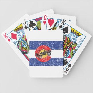 Jeu De Cartes Rouleur du drapeau 4 du Colorado