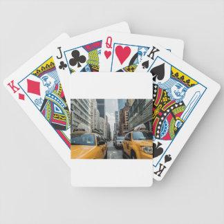 Jeu De Cartes Route Nyc de rue de New York de cabine du trafic