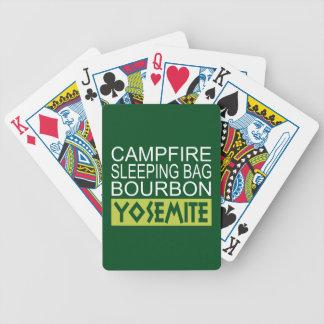 Jeu De Cartes Sac de couchage de feu de camp Bourbon Yosemite