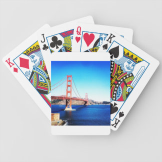 Jeu De Cartes San Francisco golden gate bridge la Californie