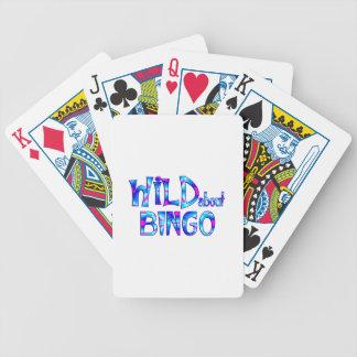 Jeu De Cartes Sauvage au sujet du bingo-test