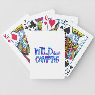 Jeu De Cartes Sauvage au sujet du camping