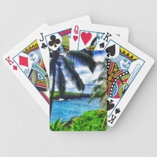 Jeu De Cartes Scène du Hawaïen IMG_1122 4
