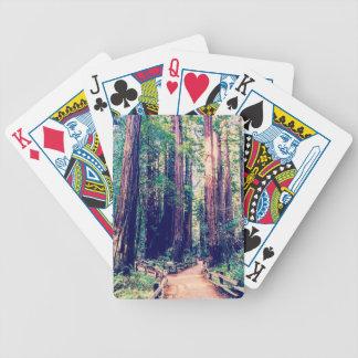 Jeu De Cartes Séquoias de Californie