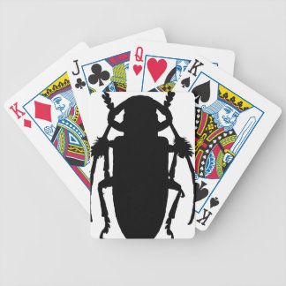 Jeu De Cartes Silhouette de scarabée