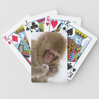 Jeu De Cartes Singe japonais de neige du Macaque | de bébé