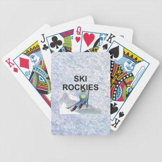 Jeu De Cartes Ski SUPÉRIEUR les Rocheuses