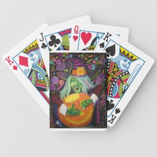 Jeu De Cartes Sorcière de Halloween