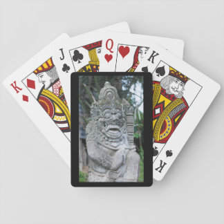 Jeu De Cartes Statue de Dieu de Balinese