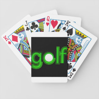 Jeu De Cartes texte de golf
