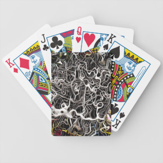 Jeu De Cartes Texture abstraite de contexte de motif