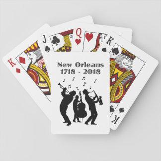 Jeu De Cartes Tricentenaire historique de la Nouvelle-Orléans