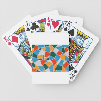 Jeu De Cartes Tuiles colorées sur le mur comme background.JPG