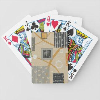 Jeu De Cartes Tuiles graphiques abstraites