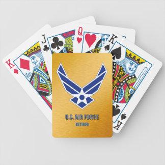 Jeu De Cartes U.S. Cartes de jeu retirées parArmée de l'Air de