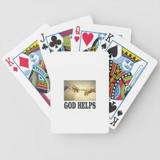 Jeu De Cartes un dieu aide l'homme