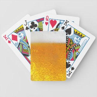 Jeu De Cartes Verre de cartes de jeu de la bière #1