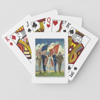 Jeu De Cartes Vétérans fiers - cartes de jeu