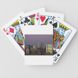 Jeu De Cartes Ville Manhattan New York d'horizon