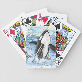 Jeu De Cartes Violation de la carte antique d'orque