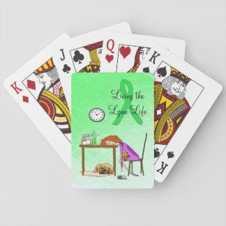 Jeu De Cartes Vivant les cartes de jeu de la maladie de Lyme de