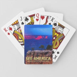 """Jeu De Cartes """"Voir le paquet de cartes de parc national de"""